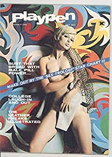 Playpen Magazine (Adult) May 1971 Volume 1 #1