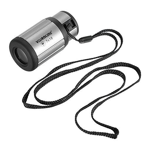 Lixada Mini Compact Monocular Telescope High Definition Pocket Scope High Definition Ultra-Light 18 Monocular