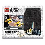 LEGO Star Wars Pod Racer Creativity Set with FSC Certified Journal, Pod Racer Building Toy, and Black Gel Pen