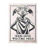 WBS Harry Potter - A5 Blechschild - Dobby der Hauself -