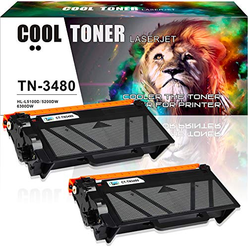 Cool Toner Compatible Toner Cartridge Replacement voor Brother TN3480 TN-3480 TN3430 voor Brother HL L5100DN Toner HL L5000D L6200DW L6300DW L6400DW L6400DWT L5200DW, MFC L6800DW L6900DW, DCP L5500DN