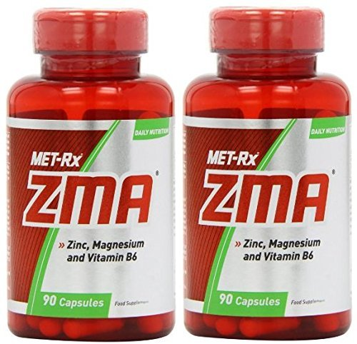 MET-Rx ZMA Strength and Muscle Gain Capsules - Tub of 90 (180)