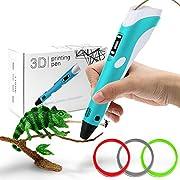 StillCool 3D Stift 3D Drucker Stift DIY Scribbler 3D Stereoscopic Printing Pen mit LCD als kreatives Geschenk für Erwachsene Jung und Alt (3 Farbe)