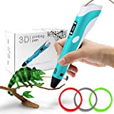 StillCool 3D Stift 3D Drucker Stift DIY Scribbler 3D Stereoscopic Printing Pen mit LCD als kreatives...