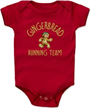 Bald Eagle Shirts Christmas Gingerbread Baby Clothes & Onesie (3-24 Months) - Gingerbread Running Team