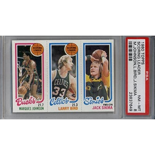 Larry Bird Rookie Card Amazoncom