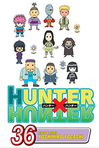 """Composition Notebook: Hunter X Hunter Vol. 36 Anime Journal-Notebook, College Ruled 6"""" x 9"""" inches, 120 Pages"""