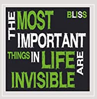 Most Important Things in Life Are Invisible