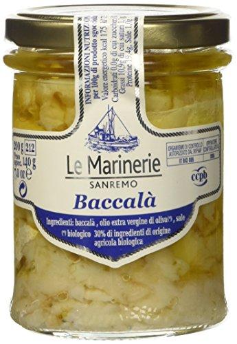Le Marinerie Baccalà in Olio Extra Vergine di Oliva - 200 gr