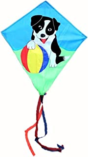 Individuality Kite, Kids Kite Beautiful Kites For Kids Easy To Fly For Beach Outdoor Dog Kite beginner (Color : Dog) MXY (...