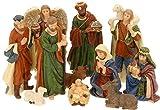 made2trade Hochwertige Figuren für die Weihnachtskrippe - 11 Teilig