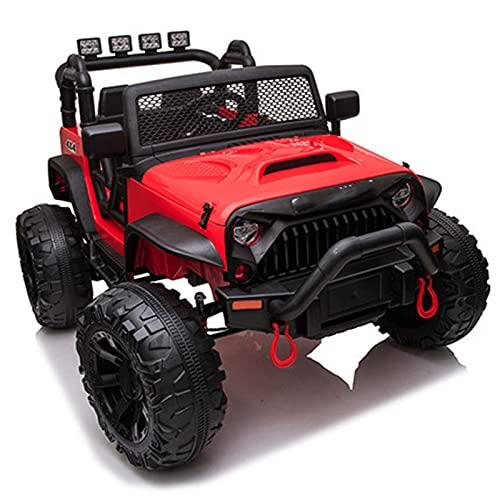 Afang Tractor Eléctrico 12V 7Ah, Coche eléctrico Batería Remolque, Bocina Reproductor MP3...