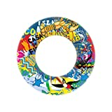 E-SCENERY Swimming Ring, Inflatable Pool Float Summer Beach Fruit Swim Pool Toys