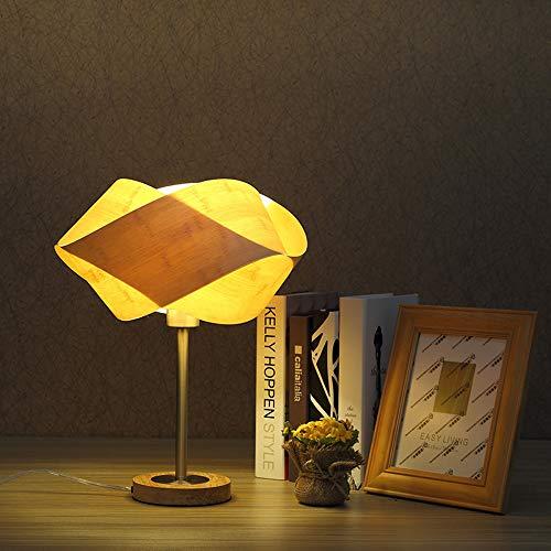 Yilingqi-1 bamboe kunst tafellamp warm tuin slaapkamer bedlampje modern minimalistische persoonlijkheid kleine tafellamp