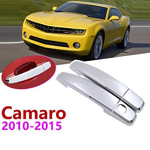 YINSHURE Couverture de poignée de Porte extérieure de Voiture Accessoires de Voiture décoration de Voiture pièces d'auto, pour Chevrolet Camaro 2010~2015