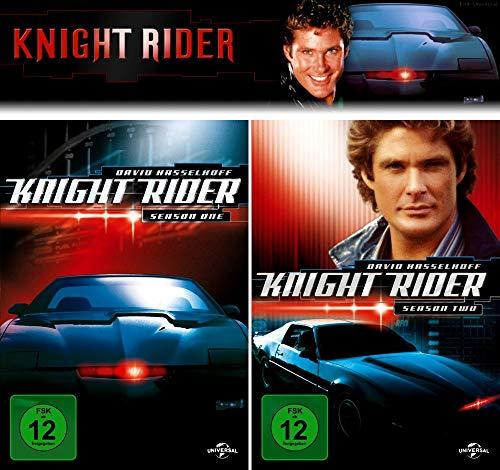Knight Rider - Die komplette 1. + 2. Staffel (14-Disc / 2-Boxen)