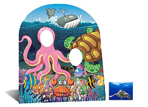 Fan Pack - Under the Sea Stand In (child size) Cardboard Cutout / Standee - Includes 8x10 Star Photo