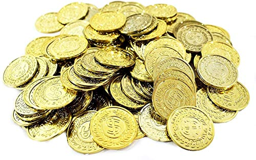 Amscan Party Favors Coin Mega, 10 1/4' x 7 1/4', Gold