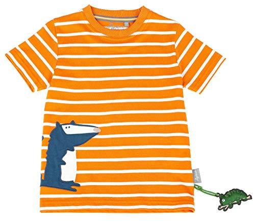 Sigikid Jungen, Mini T-Shirt, Orange (Jaffa Orange 847), (Herstellergröße: 122)