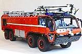 Zenghh Técnica del coche de bomberos, 118.1in Kit bloque de carreras de camiones Sports Car Model Set grande estático 3D del modelo de escala automática de alta dificultad Asamblea juego de rompecabez