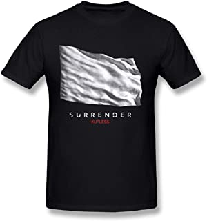 Kutless Surrender DIY Men's Fashion Cotton Crewneck Short Sleeve T-shirt