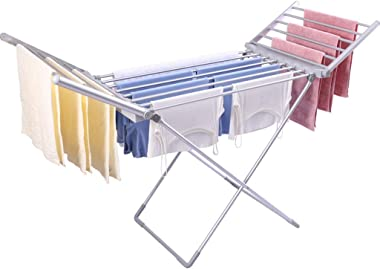 Niyanta Clothes Drying Rack Fast Drying Rack Electric Heated Clothes Dryer Portable Dryer Folding Energy-Efficient Drying Hor