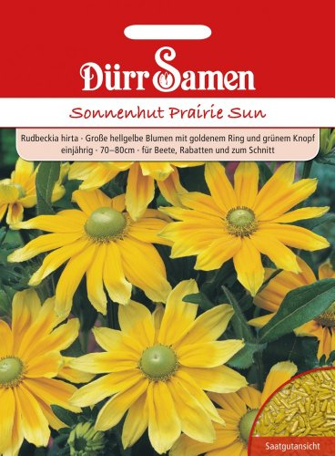 Dürr Samen 1085 Sonnenhut Prairie Sun (Sonnenhutsamen)