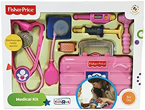 Fisher Price L5196 - Doktorkoffer, Arztkoffer in Rosa