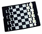 Aquamarine Games- Juego de Mesa, Ajedrez magnético de Viaje (Compudid Dama)
