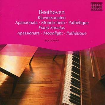 Beethoven: Piano Sonatas Nos. 8, 1 and 23