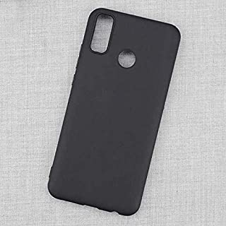 Huawei Y8s (2020) Case Cover Slim Flexible Silicone Soft TPU Rubber Black Cover for Huawei Y8s (2020) (Matte Black) by Nic...