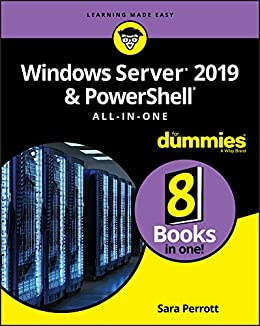 Windows Server 2019 & PowerShell All-in-One For Dummies by [Sara Perrott]