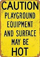 注意機器ホット 金属板ブリキ看板警告サイン注意サイン表示パネル情報サイン金属安全サイン
