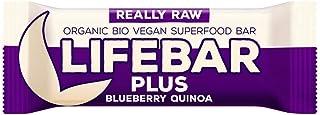 Life Food Organic Lifebar Plus Blueberry Quinoa , 47G