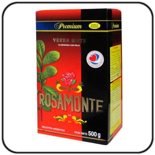 Rosamonte Premium speziell ausgewählter Yerba Mate aus den besten Kulturen.