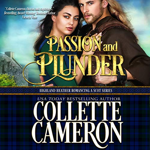 Passion and Plunder audiobook cover art
