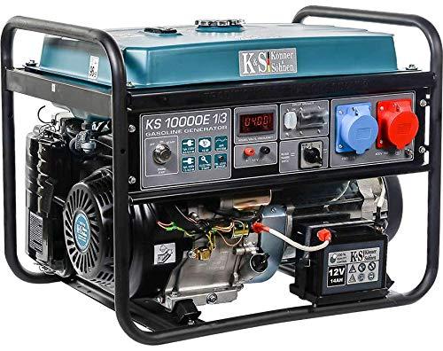 K&S | Könner&Söhnen | Benzin Generator | 230V und 400V | Stromaggregat | KS10000E-1/3 | 8KW Stromerzeuger