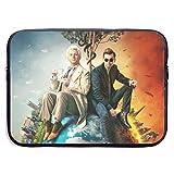 Good Omens - Funda de Lona Protectora para MacBook Pro, MacBook Air, portátil de 13 Pulgadas