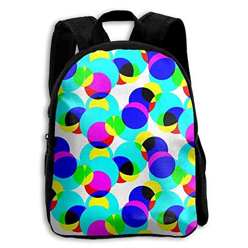 ADGBag Children's Seamless Geometric Pattern Backpack Schoolbag Shoulders Bag For Kids Zaino per bambini