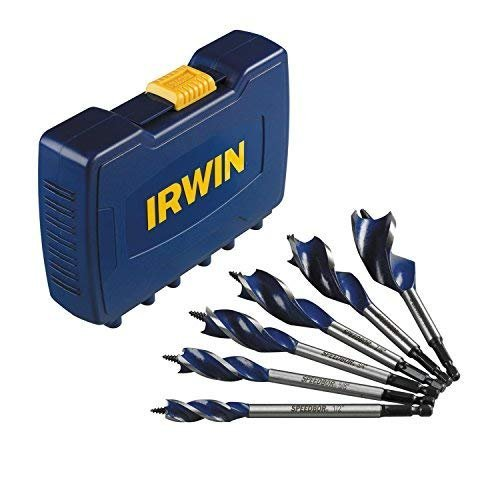 IRWIN SPEEDBOR Drill Bit Set, Auger, 6-Piece (3041006)
