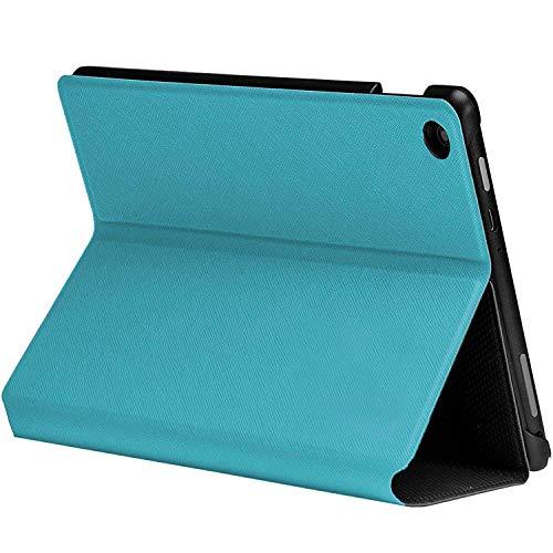 Viola Pelle Smart Custodia Pieghevole Per Amazon Fire HD 7 Tablet Stylus