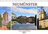 Neumuenster - Mitten in Schleswig-Holstein (Wandkalender 2022 DIN A4 quer): Begleiten Sie uns durch die Idyllische kreisfreie Stadt Neumuenster an der Schwale (Monatskalender, 14 Seiten )