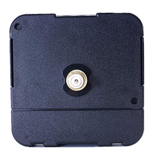 DEEWISH Mecanismo de reloj HR 8-31 mm de longitud axial de cuarzo, mecanismo de reloj, mecanismo de cuarzo para reparación y accesorios, montaje sencillo, estándar UE 56 x 56 x 16,3 mm (15 mm, negro)