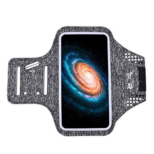 YOYIK Brazalete deportivo para iPhone 11/11 Pro/XS/XR/X/8 Plus, color gris oscuro
