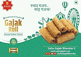 Save on Sahu Gajak Bhandar Crispy & Flaky Gajak Roll 350 Gm (Single Pack) Pouch, 350 g and more
