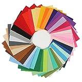 DaoRier 42 verschiedene Farben Filztuch Filz Stoff DIY