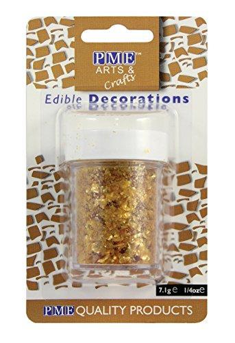PME Glitzerflocken - Gold, 7 g