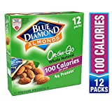 Blue Diamond Almonds On the Go 100 Calorie Packs, Whole Natural, 12 Count