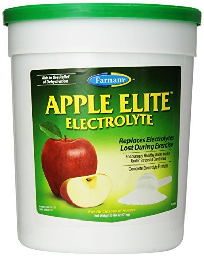 FARNAM 81110 Apple Elite Electrolyte Pet Supplement, 5-Pound by Farnam