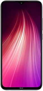 "Xiaomi Redmi Note 8 64GB + 4GB RAM, 6.3"" LTE 48MP Factory Unlocked GSM Smartphone - International Version (Moonlight White)"